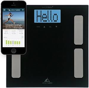 The weight gurus body fat scale