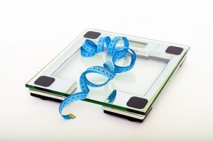 Body Fat Scale and Tape Measure